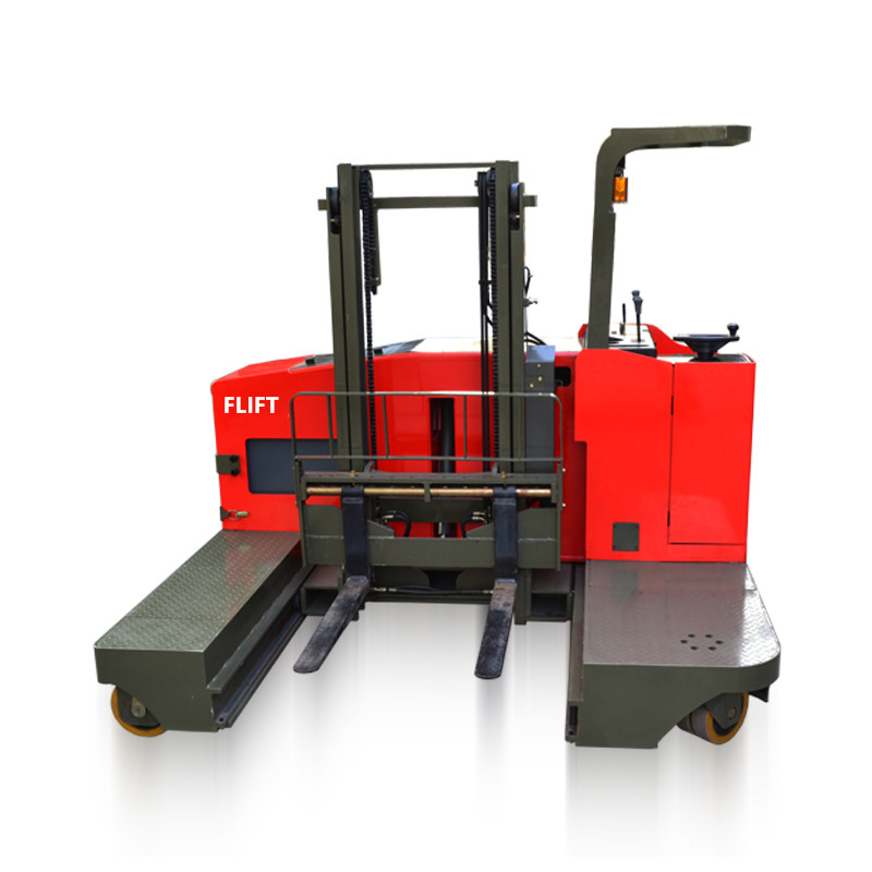 electric side loading forklift truck